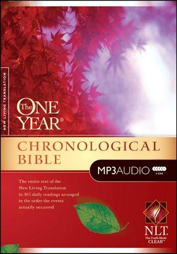 One Year Chronological Bible-NLT (Audio Bible-nlt)