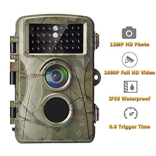 Xiao Tian IP56 wasserdichte Wildtierkamera, 8 Megapixel CMOS, 1080p HD Video, 8 Monate Standby, 20m Nachtsichtabstand
