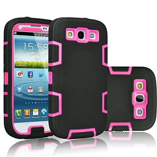 Galaxy S3Fall, tekcoo (TM) [troyal Serie] Hybrid, Schock Staub Schmutz Proof Defender Rugged Full Body Hard Case Cover Shell für Samsung Galaxy S3S III i9300GS3alle Netzbetreiber