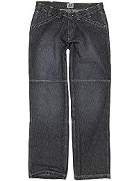 Graue Jeanshose von Greyes in großen Größen