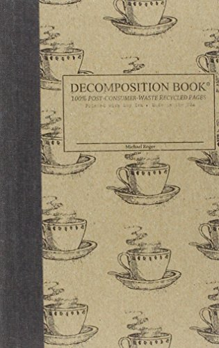 Coffee Cup Pocket-Size Decomposition Book: College-ruled Composition Notebook With 100% Post-consumer-waste Recycled Pages Rogers Cup
