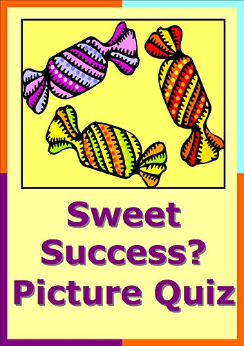 Sweet Success Sweets and Chocolate Picture Quiz Christmas or New Years Eve Party Entertainment (English Edition)