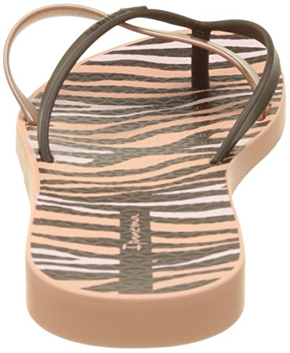 Ipanema Damen Kirei Silk Ii Fem Zehentrenner Rose (Pink/Brown)