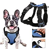 No Pull Dog Harness Large - Medium Dog Harness Adjustable, Soft, Reflective, Breathable