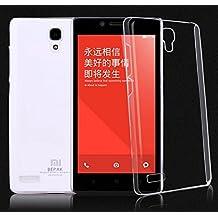 Prevoa ® 丨Transparent Silicona TPU FUNDA para XIAOMI HONGMI REDMI NOTE 5.5 Pulgada Android Smartphone + Protector Pantalla -