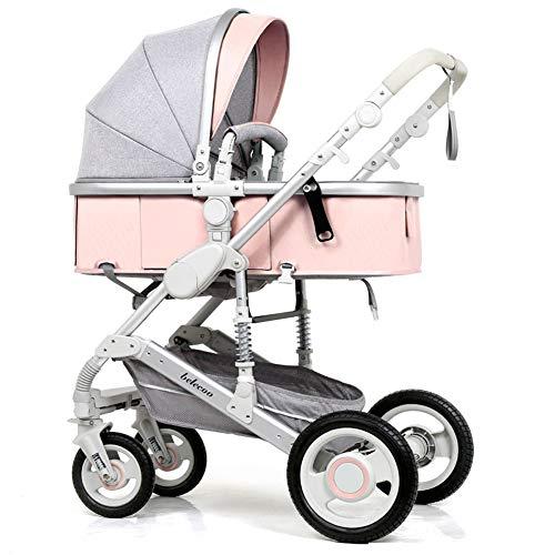Kinderwagen Leichte Tragbare Falten VierräDern Push Kann Sitzen Liegen Kinderwagen Regenschirm Kinderwagen Bb Auto,J