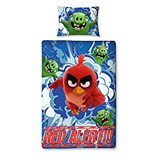 Angry Birds Single Duvet Set - Large Print Design