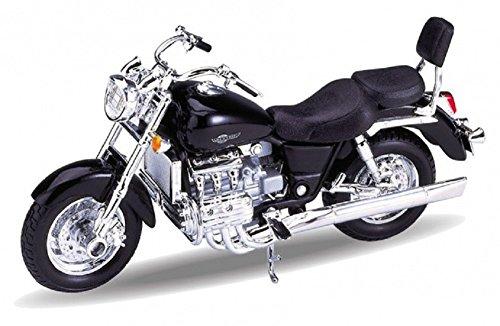 DieCast Modell Motorrad HONDA F6C schwarz metall Welly Motorradmodell 1:18