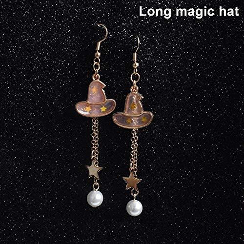 (Symbol 1 Paar Damen Mädchen Ohrringe Stud Tropfen Anhänger Schmuck für Halloween)