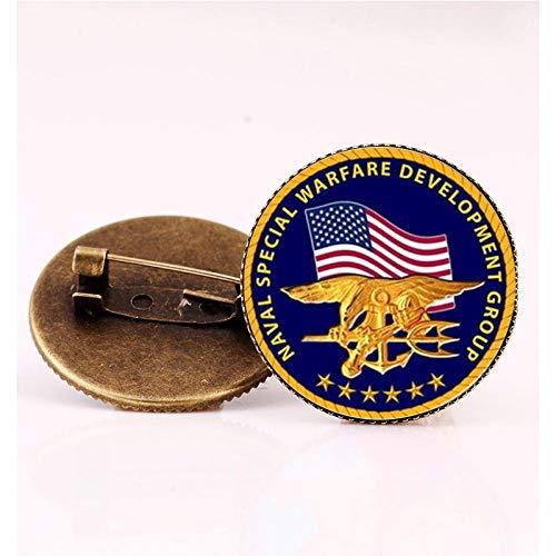 Nuova bandiera Badge Spille Spilla Distintivi Paese Spille in vetro rotonde Spilla patch Toppe Regalo donna Gioielli fatti a mano-1