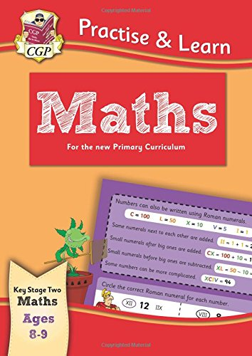 Practise & Learn: Maths (Ages 8-9) Cover Image