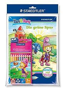 Staedtler 128 B3008G Noris Club Farbstift Malbuch-Promotion-Set für Mädchen