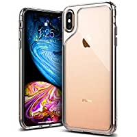 6bd375a66c9 Caseology for iPhone XS MAX Case [Waterfall Series] - Slim Clear  Transparent Protective Shock