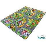 Stadt Land Fluss HEVO® Teppich   Kinderteppich   Spielteppich 145x200 cm