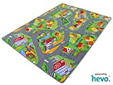 Stadt Land Fluss HEVO Teppich | Kinderteppich | Spielteppich 200x300 cm