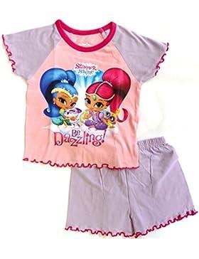 Shimmer & Shine Mädchen Schlafanzug mehrfarbig mehrfarbig