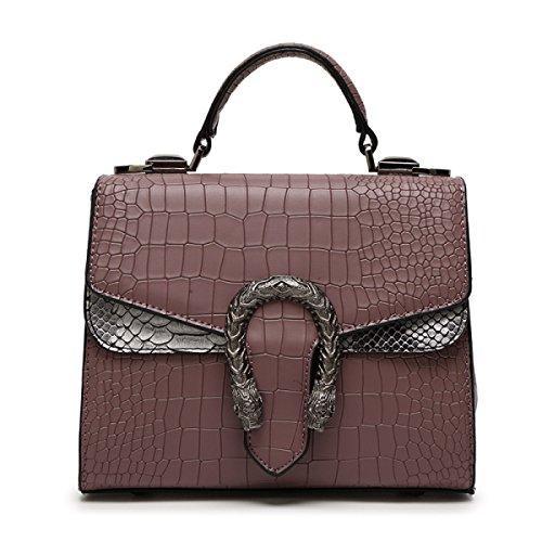FZHLY 2017 Estate Di Modo Piccoli Nuovi Femminile Shoulder Bag Messenger,Black Purple
