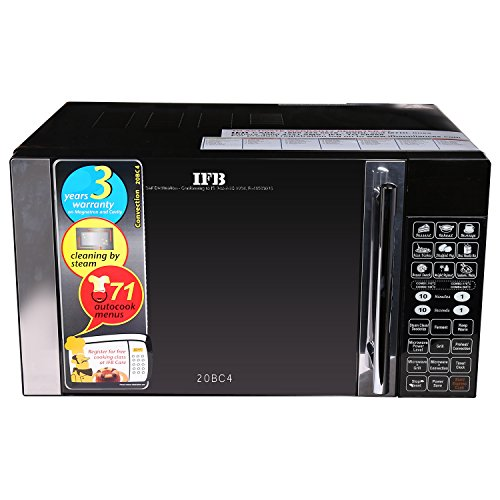 IFB-20BC4-20-Litre-1200-Watt-Convection-Microwave-Oven-Black