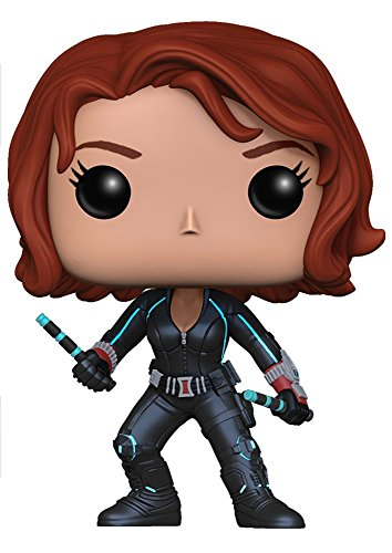 Avengers Black Widow Unisex-Adultos Funko Pop