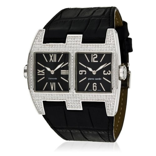 Pierre Cardin Orologio da donna 'Diamonds Collection' VIS-À-VIS Homme pc100081d01