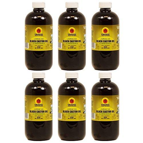 Tropic Isle Jamaican Black Castor Oil 8 oz Big Sale!!! by Tropic Isle