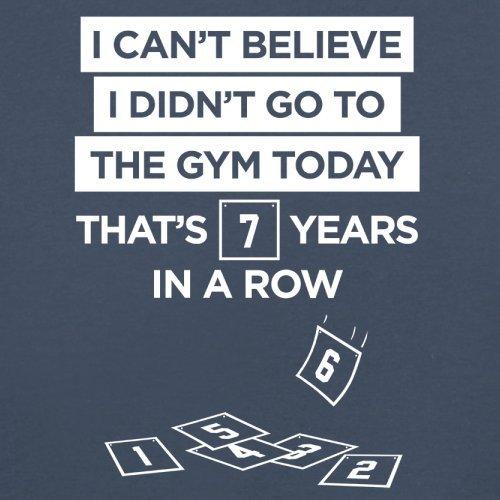 Ich glaub es nicht. Ich war heute nicht im Fitnessstudio - Damen T-Shirt - 14 Farben Navy