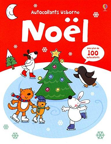 Noël - Autocollants Usborne zvec plus de 100 autocollants par Jessica Greenwell