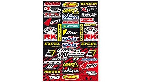 MX Enduro Aufkleber Sponsoren Sticker vorgestanzt SPONSOR C