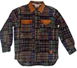 Bushfire Wollhemd, Langarm, multicolor, Grösse XXL