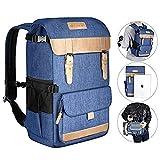 Neewer Zaino Backpack Multi-funzionale Stile Casual 27,5x21x41cm in Poliestere Impermeabile per Impianti Fotografici Viaggi Treppiedi Reflex Digitali Canon Nikon Sony