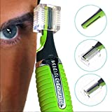 EMPORIUM The Original Micro Touches Max Hair Trimmer Cordless Great For Travel Nose Hair Trimmer With Built In Led Light Max All in One Personal Trimmer for Men(green)