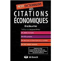 Petit dictionnaire des citations économiques (2008)