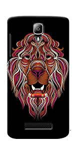 DigiPrints High Quality Printed Designer Soft Silicon Case Cover For Lenovo A1000