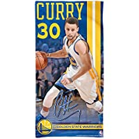 "Offizielles NBA ""Golden State Warriors, Stephen Curry"" Strandhandtuch, Badetuch in 150x75 cm"