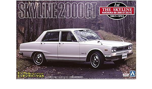 Buy 1/24 Hakosuka (Nissan Skyline C10) 4Dr 2000GT(GC) `70