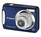 Canon PowerShot A480 Digitalkamera (10 Megapixel, 3-fach opt. Zoom, 6,4 cm (2,5 Zoll) Display) Blau