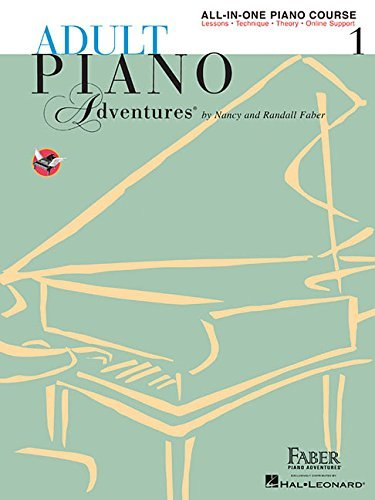 Adult Piano Adventures All-in-One Piano Course Book 1: Book with Online Media (2002-01-01)