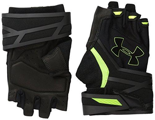 Under Armour UA Resistor guanti da Fitness, Uomo, Fitness Handschuhe UA Resistor, nero, L