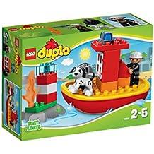 LEGO Duplo - El barco de bomberos, multicolor (10591)