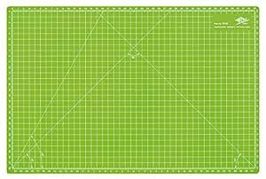 Wedo 79245 Schneidematte Comfortline A3 (CM 45, selbstschließende Oberfläche, 45 x 30 x 0,3 cm) apfelgrün