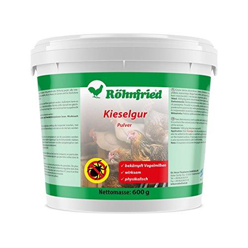 Röhnfried Kieselgur - gegen rote Vogelmilbe auf Kieselgur Basis (600 g)