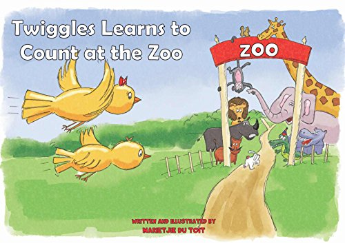 Twiggles Learns to Count at the Zoo book cover