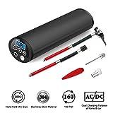 Gonfleur de pneus digital Eberry, portable, mini compresseur d'air électrique 12V, LCD, avec batterie Li-ion rechargeable