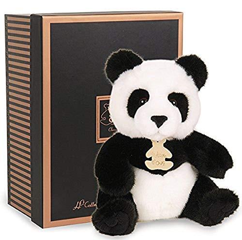 Doudou et Compagnie Peluche Panda Les Authentiques Collection Prestige