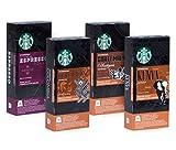 Starbucks Espresso Collection - 40 Nespresso kompatible Kapseln - 4 unterschiedliche Sorten (insgesamt 4x10 Kapseln)