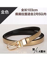 e0513c4fd ZHANGYONG Vestido de Moda para Mujer, cinturón de Moda, Pin rotativo,  cinturón de
