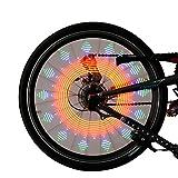 stonges Fahrrad Speichen Licht Bike Rad Licht Night Farbe Rad Trim Strip Cool Mountain Bike Wheel Lampe Fahrrad Speichen Light Wind Fire Rollen