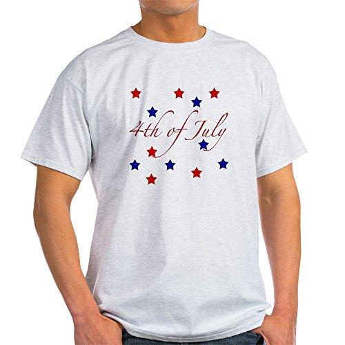 ght T-Shirt–100% Baumwolle T-Shirt Gr. Medium, Aschgrau (4. Juli Waren)