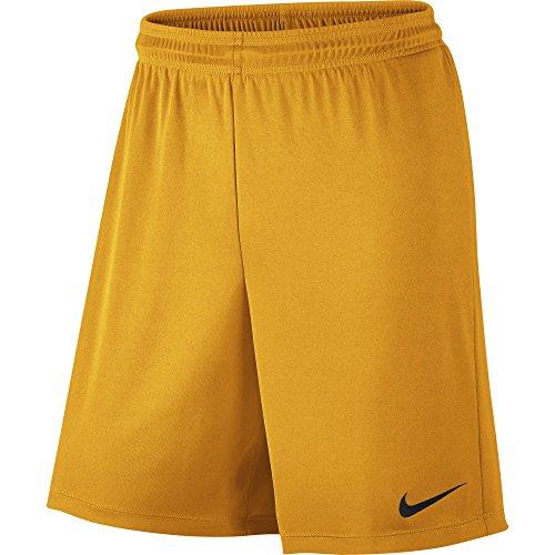 Nike Park II Knit Short WB - Pantalón Corto para Hombre, Color Dorado/Negro (University Gold/Black), Talla M