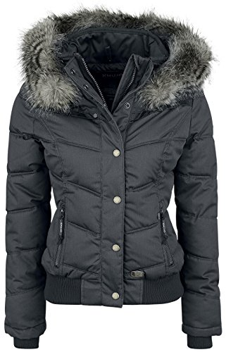 Khujo Goslar II Girl-Winter-Jacke charcoal XL